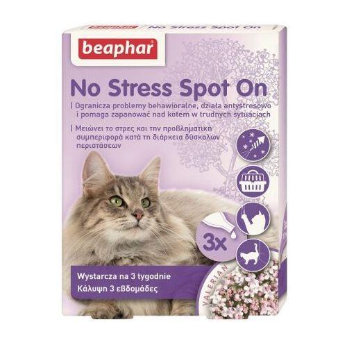 Beaphar No stress krople dla kota antystresowe spot on 3 pipety