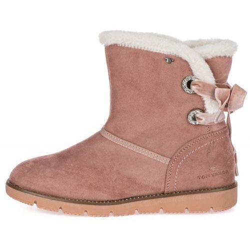 Tom tailor buty zimowe damskie 41 różowy