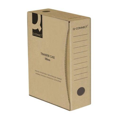 Pudło archiwizacyjne Q-CONNECT, karton, A4/100mm, szare