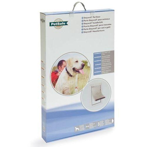 Bardzo duże drzwi aluminiowe dla psów marki Petsafe staywell
