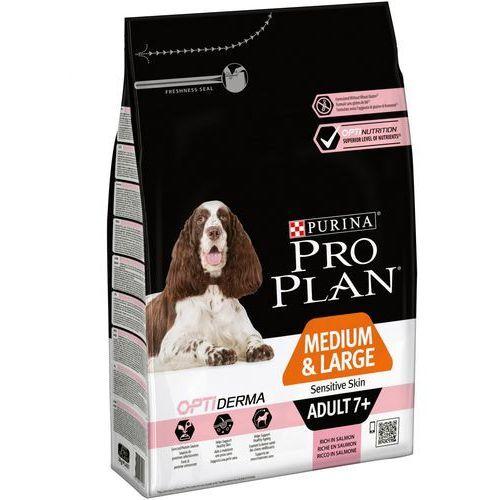 Purina Pro plan optiderma medium & large adult 7+ sensitive skin 3 kg (7613035125032)