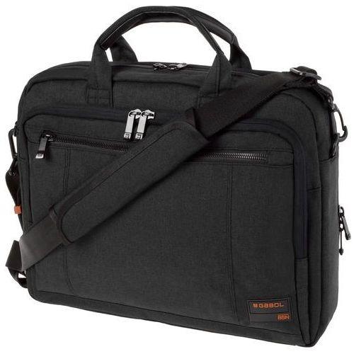 "Gabol spectrum torba na laptopa 15,6"" i tablet 10'' / czarna"