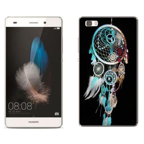 Huawei p8 lite - etui na telefon - kolekcja boho - łapacz snów 21 - j88 marki Zolti