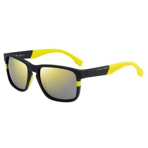 Okulary Słoneczne Boss by Hugo Boss Boss 0916/S Polarized 1XE/C4, kolor żółty