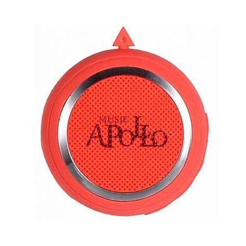 Głośnik Multimedialny Bluetooth z Radiem APOLLO MINI 2W Czerwony, apollo-minired
