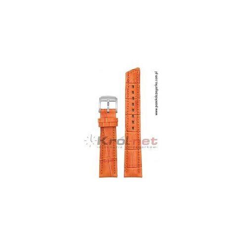 Pasek Hirsch Princess 16 mm - pomarańczowy, kolor pomarańczowy