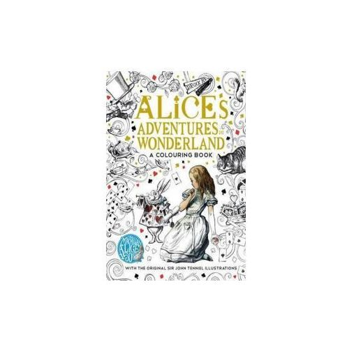 Alice's Adventures in Wonderland colouring book, Carroll, Lewis