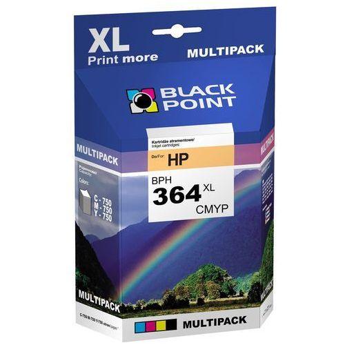 [BPH364XLC] Ink/Tusz Black Point | (HP CB323EE) cyan (5907625613637)