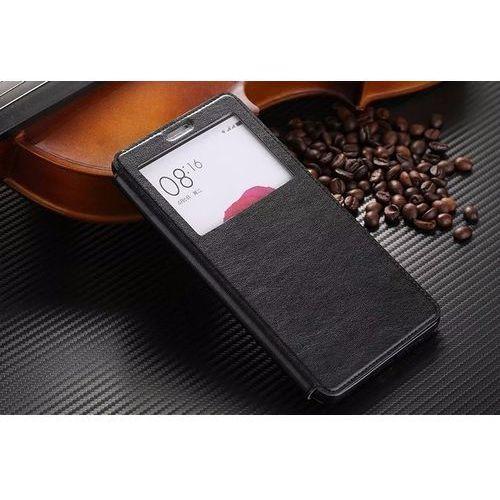 Flip Leather Czarny | Etui z klapką dla Xiaomi Mi Max - Czarny