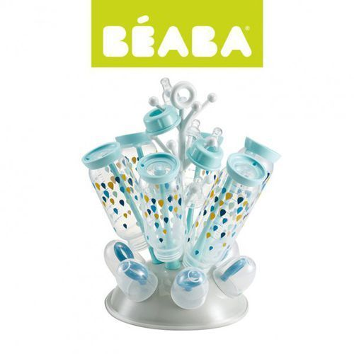 suszarka do butelek i smoczków blue kolekcja 2017 marki Beaba