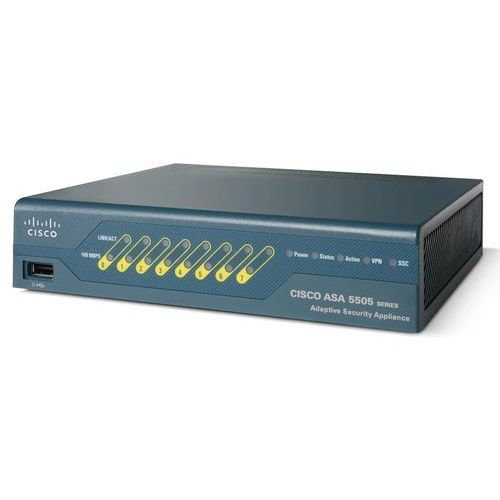 Cisco Asa 5505 appliance with sw, 10 users, 8 ports, des (asa5505-k8)