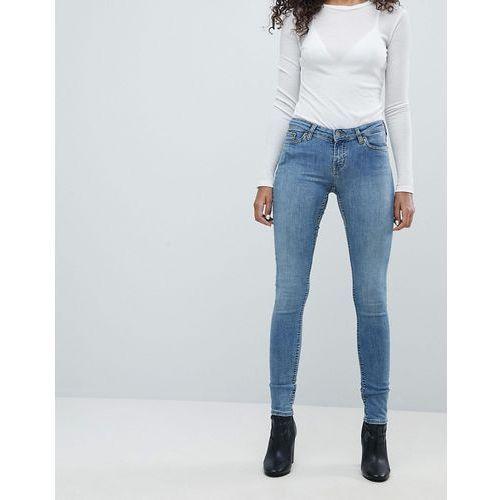 Weekday Saturday Low Waist Skinny Jeans - Blue, kolor niebieski