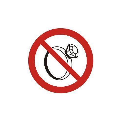 Top design Zakaz noszenia biżuterii