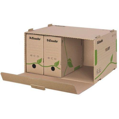 Esselte pudło archiwizacyjne zbiorcze eco, na segregatory (10k157a) darmowy odbiór w 21 miastach!
