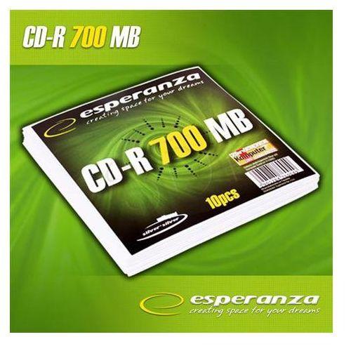 Płyty cd-r 700mb 52x - koperta - 10szt. marki Esperanza