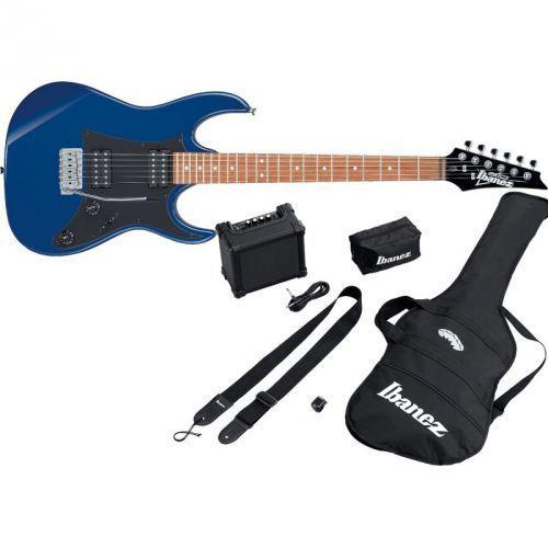 Ibanez IJRX20-BL Jumpstart Starter Set Blue gitara elektryczna + wzmacniacz + pokrowiec + kostki + tuner + pasek
