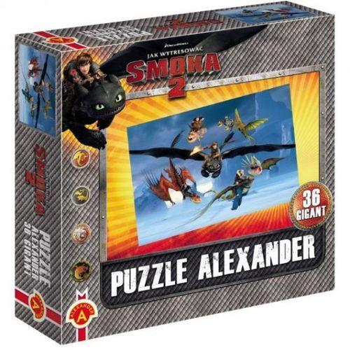 Alexander , jak wytresować smoka 2, puzzle, 36 elementów (5906018010008)