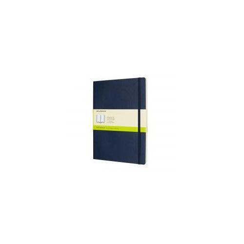 Moleskine Notatnik classic xl gładki, miękka oprawa, szafirowy