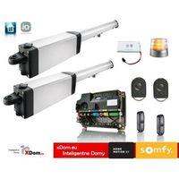 Ixengo l 3s io - 24v comfort pack (2 piloty 4-kanałowe keygo, lampa, fotokomórki, akumulator) marki Somfy