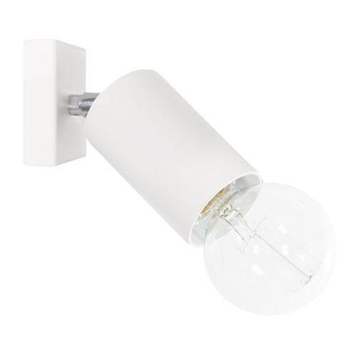 Lampex Kinkiet ścienny rolka 40w biały