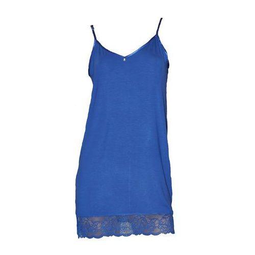 Koszula De Lafense 394 Dagmara ramiączko ROZMIAR: M, KOLOR: chabrowy, De Lafense, kolor niebieski
