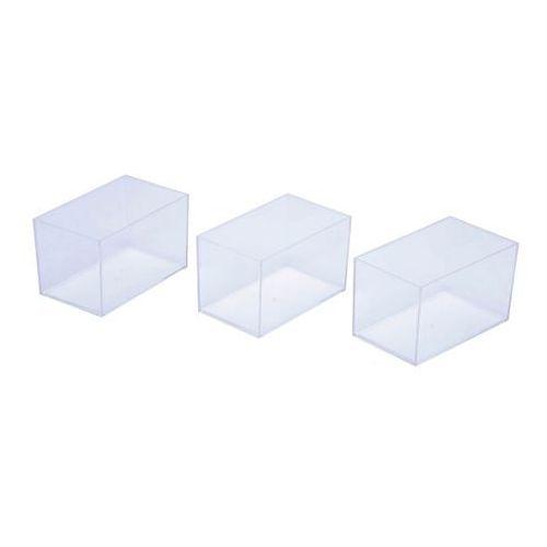 Cooke&lewis Organizer wysoki transparentny z szufladami 3 szt. (5052931172306)