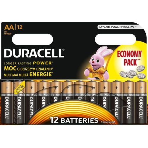 Duracell Bateria basic aa 12 szt.