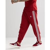 adidas Originals adicolor 3-Stripe Joggers In Red CW2428 - Red