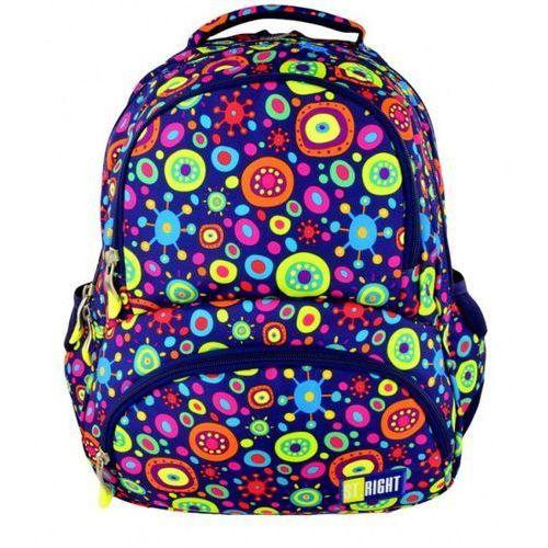 Plecak młodzieżowy jelly bp-07 st.right kieszeń termiczna marki St.-majewski