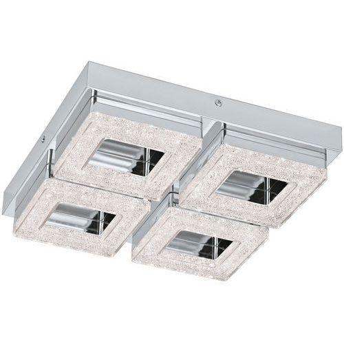 Plafon Eglo Fradelo 95657 lampa sufitowa ścienna 4x4W LED chrom/kryształ (9002759956578)