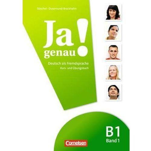 Ja genau! Kurs- und Übungsbuch mit Lösungen und Audio-CD B1: Band 1