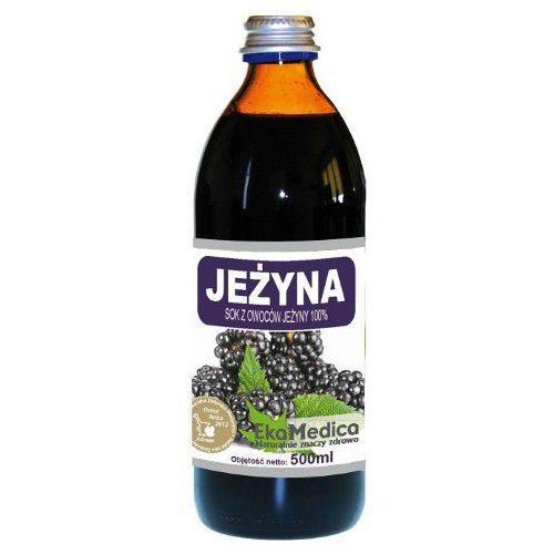 Sok z jeżyny 100% (500 ml) marki Ekamedica