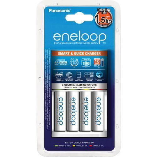 Panasonic eneloop bq-cc55 + 4 x r6/aa eneloop 2000mah bk-3mcce (5410853057642)