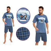 Piżama męska RIDER: niebieski