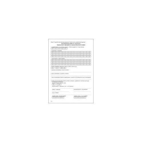 Zgłoszenie pobytu stałego [pu/e-1] marki Firma krajewski