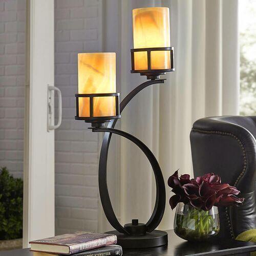 Elstead Lampa stołowa kyle qz/kyle/tl - lighting - rabat w koszyku