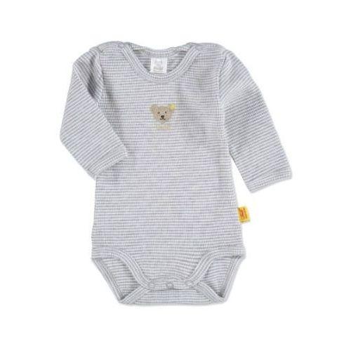 SANETTA Baby Body z długim rękawem grey melange (4028193734836)