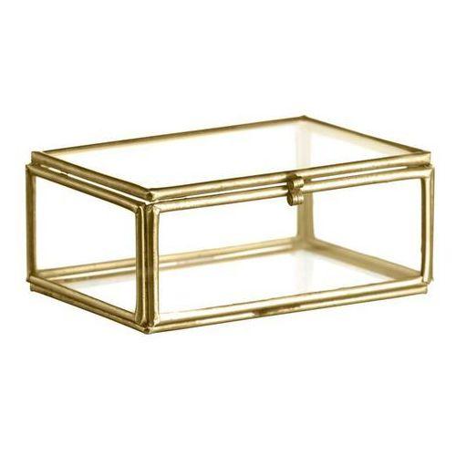 Madam Stoltz - Szklane pudełko na biżuterię