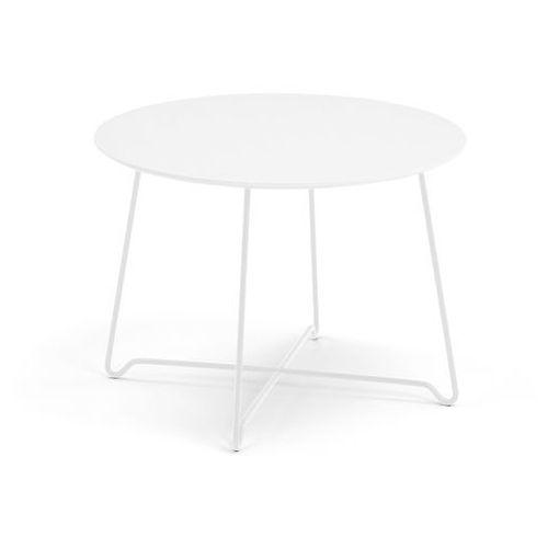 Stół kawowy iris, wys. 510 mm, biały, biały marki Aj produkty