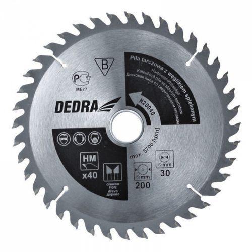 Tarcza do cięcia  h30040 300 mm do drewna + zamów z dostawą jutro! marki Dedra