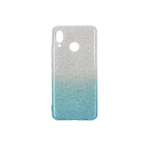 Huawei Nova 3 - etui na telefon Forcell Shining - niebieskie ombre, kolor niebieski