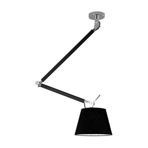 Lampa wisząca zyta md2300-s pen bk  abażurowa oprawa zwis na wysięgniku czarny od producenta Azzardo