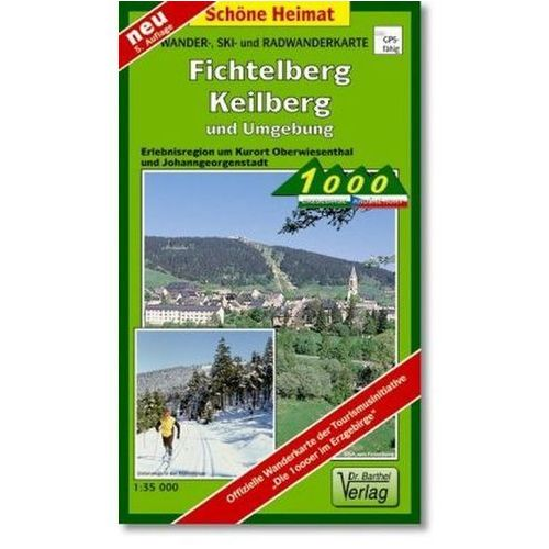 Doktor Barthel Karte Fichtelberg/Keilberg und Umgebung