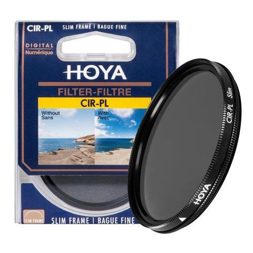 filtr polaryzacyjny pl-cir 52 mm slim marki Hoya