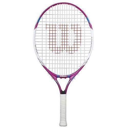 """Rakieta tenis ziemny Wilson Juice Pink 23"""" 215600"""
