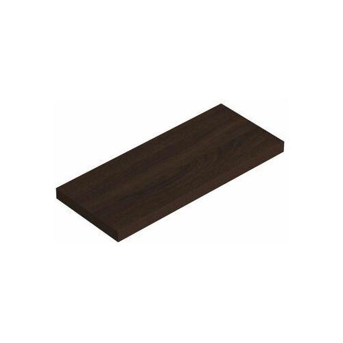 Domax Półka ścienna komorowa wenge 59.5 x 23.5 cm velano (5907708145888)