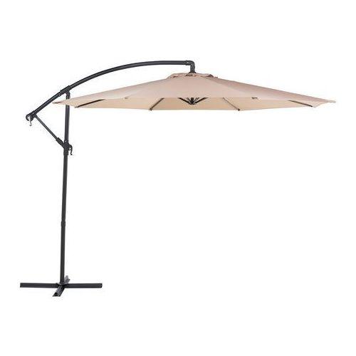 Parasol ogrodowy Ø300 cm piaskowy ravenna marki Beliani