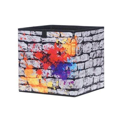 Kolorowe pudło graffiti do regałów max