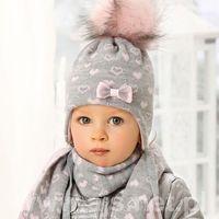 Komplet 38-432 czapka+szalik rozmiar: uniwersalny, kolor: wielokolorowy, ajs marki Ajs