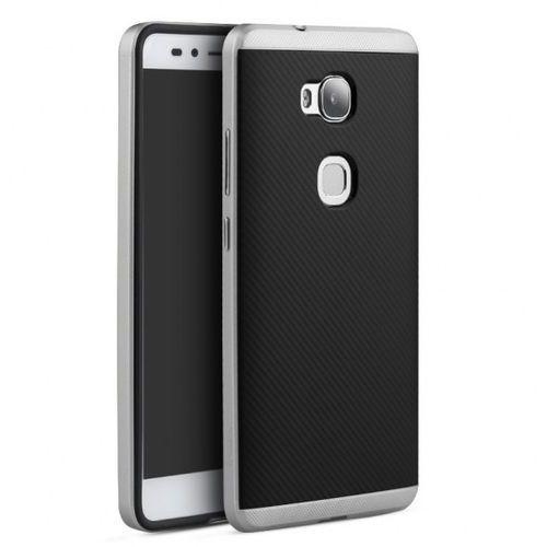 Etui iPaky Premium Hybrid Huawei Honor 5X Silver + Szkło